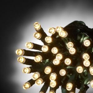 100 LED ΛΑΜΠΑΚΙΑ ΕΠΕΚΤΕΙΝΟΜΕΝΟ ΠΡΑΣΙΝΟ ΚΑΛΩΔΙΟ ΘΕΡΜΟ ΛΕΥΚΟ ΦΩΣ ΕΞΩΤ. ΧΩΡΟΥ (XLALED100W-GWW/31V)