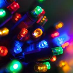 100 LED ΛΑΜΠΑΚΙΑ ΕΠΕΚΤΕΙΝΟΜΕΝΟ ΠΡΑΣΙΝΟ ΚΑΛΩΔΙΟ ΠΟΛΥΧΡΩΜΟ ΦΩΣ ΕΞΩΤ. ΧΩΡΟΥ (XLALED100W-GM/31V)