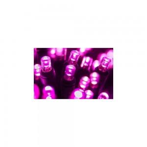 100 LED ΛΑΜΠΑΚΙΑ ΜΕ ΠΡΟΓΡΑΜΜΑ ΔΙΑΦΑΝΟ ΚΑΛΩΔΙΟ ΡΟΖ ΦΩΣ ΕΞΩΤ. ΧΩΡΟΥ (XLALED100-CP/31V)