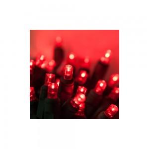 100 LED ΛΑΜΠΑΚΙΑ ΜΕ ΠΡΟΓΡΑΜΜΑ ΠΡΑΣΙΝΟ ΚΑΛΩΔΙΟ ΚΟΚΚΙΝΟ ΦΩΣ ΕΞΩΤ. ΧΩΡΟΥ (XLALED100-GR/31V)