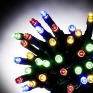 100 LED ΛΑΜΠΑΚΙΑ ΜΕ ΠΡΟΓΡΑΜΜΑ ΠΡΑΣΙΝΟ ΚΑΛΩΔΙΟ ΠΟΛΥΧΡΩΜΟ ΦΩΣ ΕΞΩΤ. ΧΩΡΟΥ (XLALED100-GM/31V)
