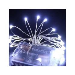 100 LED ΛΑΜΠΑΚΙΑ ΜΠΑΤΑΡΙΑΣ COPPER ΨΥΧΡΟ ΛΕΥΚΟ ΦΩΣ 10M (XLCOPPER-BA100W)
