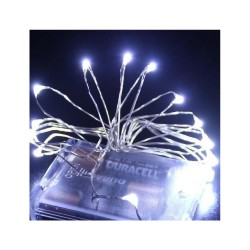 20 LED ΛΑΜΠΑΚΙΑ ΜΠΑΤΑΡΙΑΣ COPPER ΨΥΧΡΟ ΛΕΥΚΟ ΦΩΣ 2M (XLCOPPER-20W)