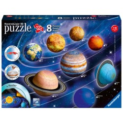 3D PUZZLE 522 ΤΕΜ. ΗΛΙΑΚΟ ΣΥΣΤΗΜΑ