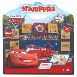 ART GRECO - ΣΕΤ ΣΦΡΑΓΙΔΕΣ STAMPERS DISNEY CARS (1023-63021)