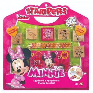 ART GRECO - ΣΕΤ ΣΦΡΑΓΙΔΕΣ STAMPERS DISNEY MINNIE (1023-63020)