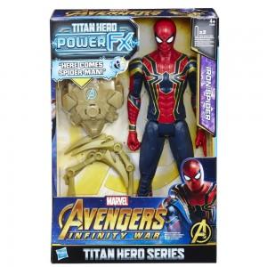AVENGERS 12IN TITAN HERO POWER FX SPIDERMAN