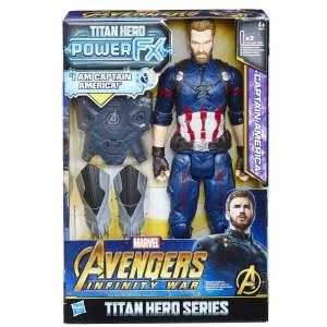 AVENGERS 12IN TITAN HERO POWER PACK CAPTAIN AMERICA