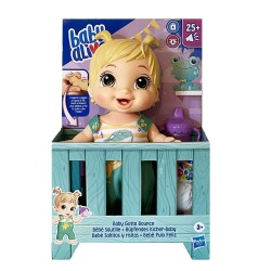 BABY ALIVE - BABY GOTTA BOUNCE BLONDE HAIR (E9427)