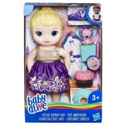 BABY ALIVE - CUPCAKE BIRTHDAY BABY ΞΑΝΘΟ ΜΩΡΑΚΙ (E0596)