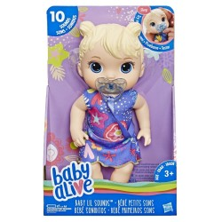 BABY ALIVE SWEET SOUNDS BLONDE