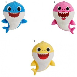 BABY SHARK - ΟΙΚΟΓΕΝΕΙΑ ΛΟΥΤΡΙΝΑ ΜΕ ΗΧΟΥΣ 3 ΣΧΕΔΙΑ (BAH01000)