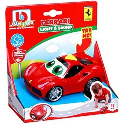 BBURAGO JUNIOR FERRARI LIGHT & SOUND