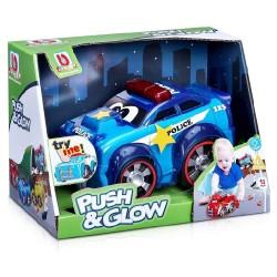 BBURAGO JUNIOR PUSH & GLOW POLICE CAR (16-89004)