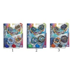 BEYBLADE BURST RISE - HYPERSPHERE DUAL PACKS (E7533)
