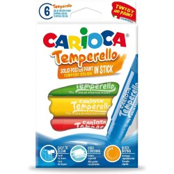 CARIOCA ΜΑΡΚΑΔΟΡΟΙ TEMPERELLO 6 ΤΕΜ. (42739)