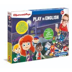 CLEMENTONI ΕΞΥΠΝΟΥΛΗΣ - PLAY IN ENGLISH (1024-63591)