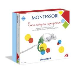 CLEMENTONI MONTESSORI - ΕΝΑΣ ΚΟΣΜΟΣ ΧΡΩΜΑΤΩΝ (1024-63219)