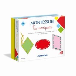 CLEMENTONI MONTESSORI - ΤΑ ΣΧΗΜΑΤΑ (1024-63223)