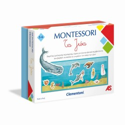 CLEMENTONI MONTESSORI - ΤΑ ΖΩΑ (1024-63224)