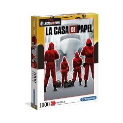 CLEMENTONI ΠΑΖΛ - 1000 H.Q. LA CASA DE PAPEL THE MONEY HEIST (1260-39532)