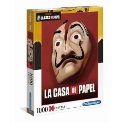 CLEMENTONI ΠΑΖΛ - 1000 H.Q. LA CASA DE PAPEL THE MONEY HEIST (1260-39533)