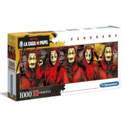 CLEMENTONI ΠΑΖΛ - 1000 H.Q. PANORAMA LA CASA DE PAPEL THE MONEY HEIST (1220-39545)