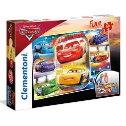 CLEMENTONI ΠΑΖΛ - 40 S.C. DISNEY FLOOR CARS 3 (1200-25455)