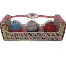 CUP CAKE BEAR MINI ASST. PACK 3 ΤΕΜ.