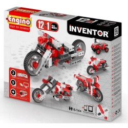 ENGINO INVENTOR 12 MODELS MOTORBIKES