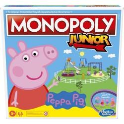 ΕΠΙΤΡΑΠΕΖΙΟ - MONOPOLY JUNIOR PEPPA PIG (F1656)