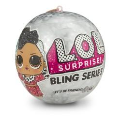 L.O.L. SURPRISE - ΚΟΥΚΛΑ BLING 7 ΕΚΠΛΗΞΕΙΣ 12 ΣΧΕΔΙΑ (LLU58001)