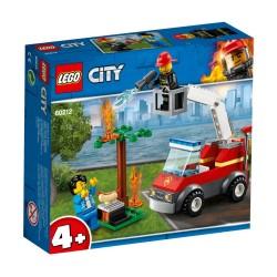LEGO® CITY ΠΥΡΚΑΓΙΑ ΑΠΟ ΜΠΑΡΜΠΕΚΙΟΥ (60212)