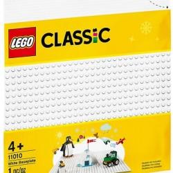 LEGO® CLASSIC WHITE BASEPLATE (11010)