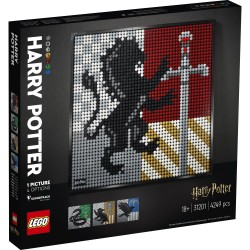 LEGO ART - HARRY POTTER HOGWARTS CRESTS (31201)