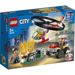 LEGO CITY - FIRE HELICOPTER RESPONSE (60248)