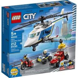 LEGO CITY - ΚΑΤΑΔΙΩΞΗ ΜΕ ΑΣΤΥΝΟΜΙΚΟ ΕΛΙΚΟΠΤΕΡΟ (60243)
