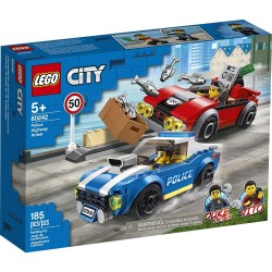 LEGO CITY - ΣΥΛΛΗΨΗ ΤΗΣ ΑΣΤΥΝΟΜΙΑΣ ΕΘΝΙΚΩΝ ΟΔΩΝ (60242)