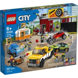 LEGO CITY - ΣΥΝΕΡΓΕΙΟ ΑΥΤΟΚΙΝΗΤΩΝ (60258)