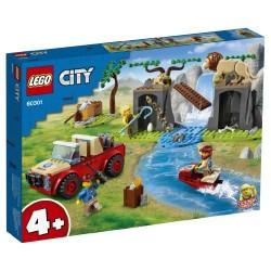 LEGO CITY WILDLIFE - RECSUE OFF-ROADER (60301)