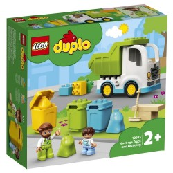 LEGO DUPLO TOWN - GARBAGE TRUCK AND RECYCLING (10945)