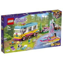 LEGO FRIENDS - FOREST CAMPER VAN AND SAILBOAT (41681)