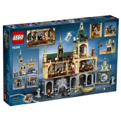 LEGO HARRY POTTER - HOGWARTS CHAMBER OF SECRETS MODULAR CASTLE TOY WITH THE GREAT HALL (76389)