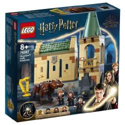 LEGO HARRY POTTER - HOGWARTS: FLUFFY ENCOUNTER CASTLE TOY BUILDING SET (76387)