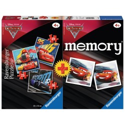 MEMORY & 3 PUZZLE CARS 3