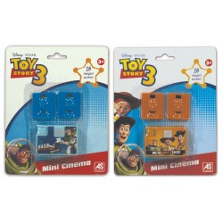 MINI CINEMA - DISNEY TOY STORY 3 2 ΣΧΕΔΙΑ (1027-07113)