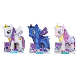 MY LITTLE PONY FEATURE WINGS PLUSH ASST