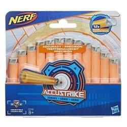 NERF N-STRIKE - ELITE ACCUSTRIKE REFILL PACK 12 ΒΕΛΑΚΙΑ (C0162)