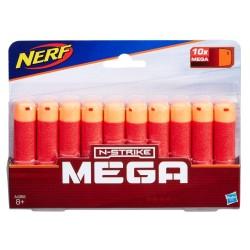 NERF N-STRIKE - MEGA REFILL PACK 10 ΒΕΛΑΚΙΑ (A4368)