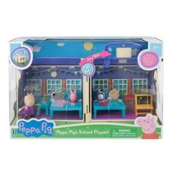 PEPPA PIG - ΣΕΤ ΠΑΙΧΝΙΔΙΟΥ ΣΧΟΛΕΙΟ ΜΕ 3 ΦΙΓΟΥΡΕΣ (PPC56000)